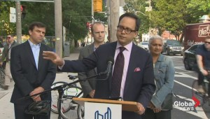Councillor Minnan-Wong pushes for better biking infrastructure