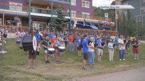Piping Hot Summer Drummer fills Silver Star Mtn. with music