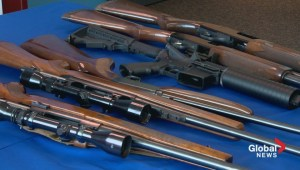 Charges laid after weapon seizures at Coutts border crossing