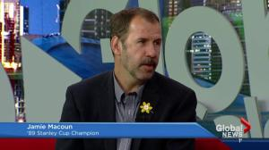 Jamie Macoun talks Calgary Flames playoffs