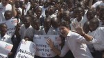 Justin Trudeau joins school kids for game of kickball in Monrovia, Liberia