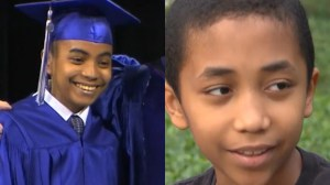 Genius brothers, 14 and 11, graduate from college, high school