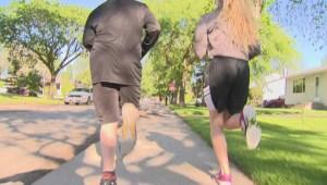 Young cancer survivor preparing for Manitoba Marathon