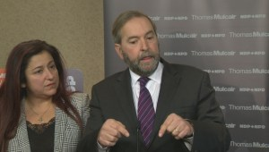 Mulcair defends silence of alleged victims