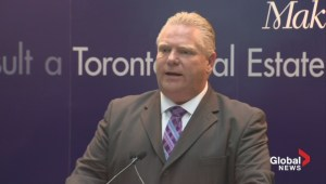 Doug Ford rails against land transfer tax