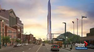 Edmonton city council continues to debate 80-storey tower proposal