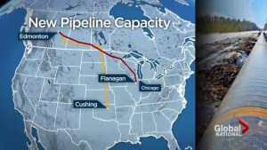 New routes to Gulf Coast for Canadian oil