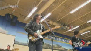 Rock band preaches money to Rutland Secondary students