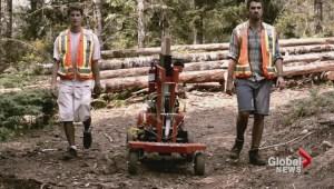 UVic students invent tree planting machine