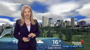 Edmonton early morning weather forecast: Monday, May 15, 2017