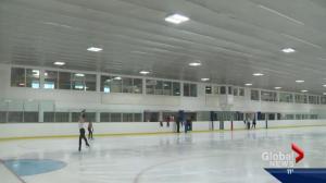 Skating at Royal Glenora Club