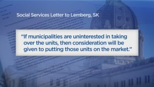 Lemberg, Sask. residents concerned about possible selloffs of low-income senior homes