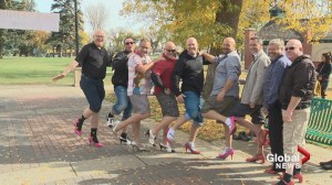 Lethbridge men strap on their heels for the YWCA
