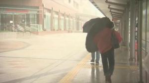Raw video: Japan battles tropical storm Vongfong