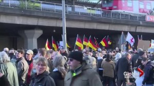 Protests in Germany over attacks largely blamed on foreigners