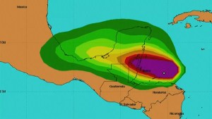 Belize prepares for Hurricane Earl