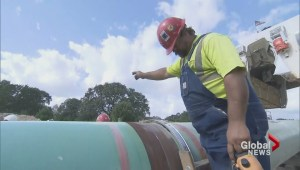 Why is the Keystone XL pipeline proposal on hold?