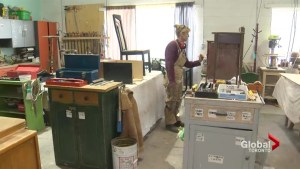 Turning old furniture in Toronto into something new for someone in need