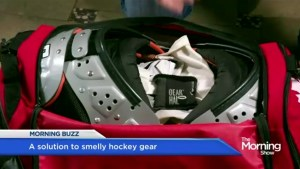 A Canadian solution to smelly hockey gear