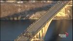 Protesters shutdown bridge in Minneapolis over Trump's executive orders on pipelines