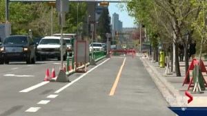 Businesses complain about new Calgary bike lanes