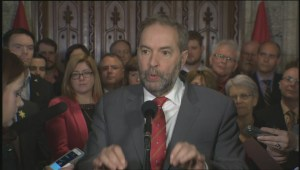 Tom Mulcair on Saudi arms deal: 'The government lied'