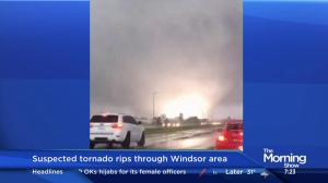 Storm chaser weighs in on the suspected tornado in Windsor