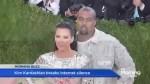 Kim Kardashian breaks her social media silence