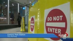 LRT escalators out of commission