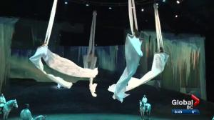 Soaring high with the aerialists and horses of Odysseo