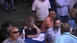 Greek polling stations prepare for historic referendum