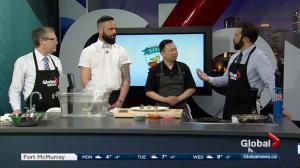 Effing Seafood, Nineteen head chef on Global News Morning Weekend