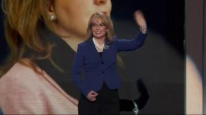 Gabby Giffords appears at Democratic National Convention, receives rousing ovation