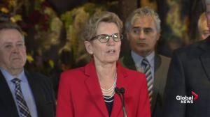 Wynne describes 'celebratory' day as Premiers, PM discuss climate change