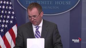 OMB director offers a preview of President Trump's federal budget