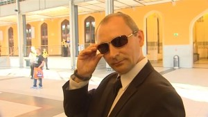Polish man poses as Vladimir Putin's doppelganger