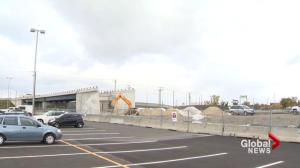 Dorval overpass still incomplete