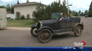 95-year-old Alberta man takes dream road trip in classic Model T