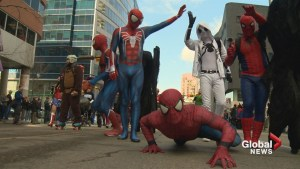Sights and sounds from Parade of Wonder at Calgary Expo