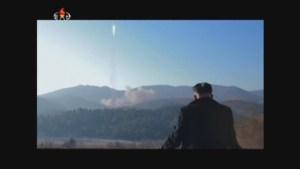 North Korea releases video of rocket launch