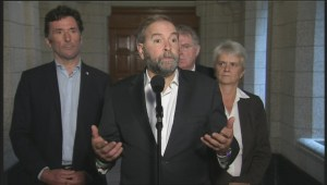 Mulcair concerned about lack of clarity regarding Canada's mission in Iraq