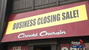 Arnold Churgin Shoes shutting down
