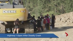 One dead in tour bus accident on Highway 1