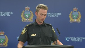Winnipeg police speak about incident when officer's gun discharged in holster