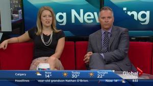 Amber Schinkel's day trip to Wayne, Alberta
