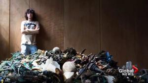Young man on multi-million dollar mission to clean the world's oceans