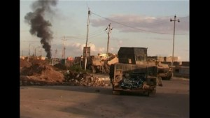 ISIS fighters counterattacks Iraqi troops' advance in Ramadi