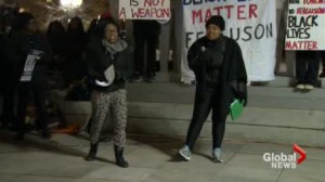 Non-blacks asked to stay silent and stand back at Toronto pro-Ferguson rally