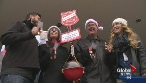 Kelowna Salvation Army Kettle campaign kicks off