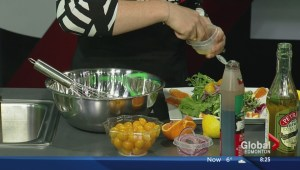 In the Global Edmonton kitchen with Green Bean Coffee House and Bistro
